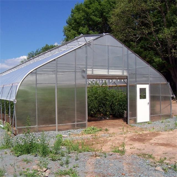 Cheap Single Span Film Tunnel Greenhouse