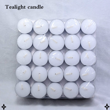 8 jam lilin tealight putih 23g lilin tealight