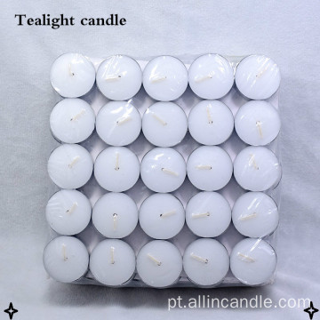 Velas brancas do tealight 8hrs vela 23g do tealight