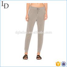 Pantalones de chándal elastizados con cintura elástica pantalones de mujer