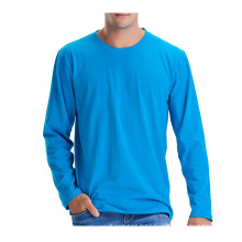 Wholesale Men′s Long Sleeve Plain T-Shirt