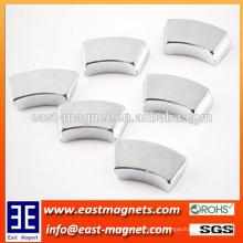 Permanent NdFeB Neodym Magnet / blau weiß-verzinkt Motor Magnet