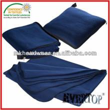 Couverture en gros de l'oreiller en molleton avec fermeture à glissière