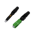 Serat Cepat Fiber Optic SC Apc Connector