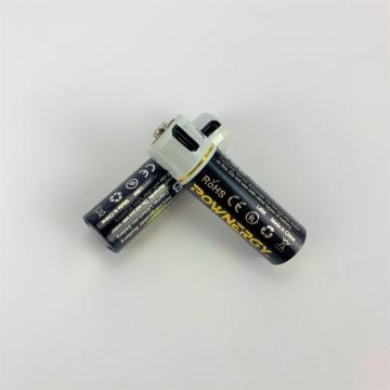 1.5v 1850mWh cargador de batería AA USB