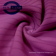100% polyester 75D 100D Anti-static double pique fabric for sportswear