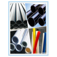 2014 hot sale high quality extrution white PE pipe for hoola pipes