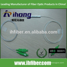 Factory SC/APC Singlemode Steel Tube Fiber Optic Splitter
