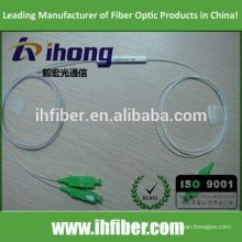 Fábrica SC / APC Singlemode Tubo de aço Fibra Óptica Splitter