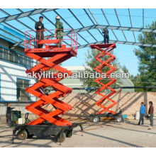 hydraulic greenhouse scissor lift