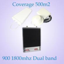 Двойные диапазоны GSM900 Dcs 1800 МГц 2g / 3G / 4G Сигнальный усилитель / повторитель