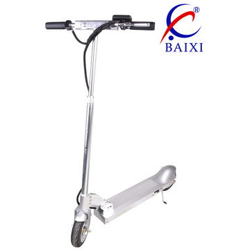 Kick Electric Vehicle Scooter with Iron Stand (BX-DD001)