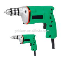 Venda quente India Market 10 milímetros 350w poder mão broca máquina elétrica portátil impacto broca 10 milímetros