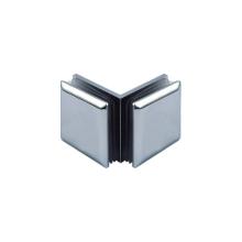 Abrazaderas cuadradas de acero inoxidable para puerta de vidrio