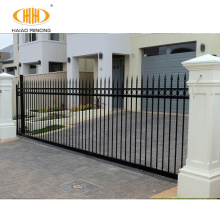 cast spear top single gate front gates for home motorized sliding gate for sale