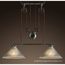 European High Quality Hanging Pendant Lamps (DL20417-2BBZ)