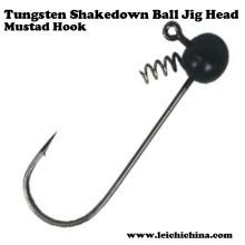 Tête de jig de boule de Tungsten Shakedown de qualité