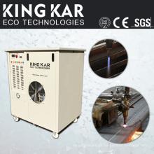 Máquina de rebobinadeira e cortadora de papel com gerador de oxidrogênio