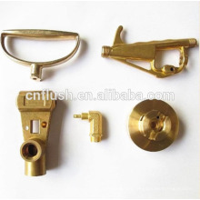 Custom-made OEM precision machining turned brass handle parts