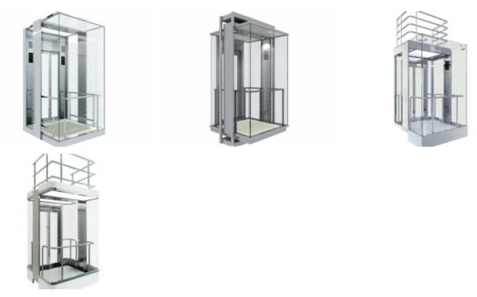 Panoramic Elevator Cab Modernization