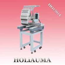 Вышивальная машина HOLAUMA с одной головкой и высокоскоростным компьютером с 15 цветами