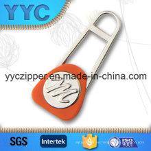 Diseño de moda tirador de metal personalizado para cremallera
