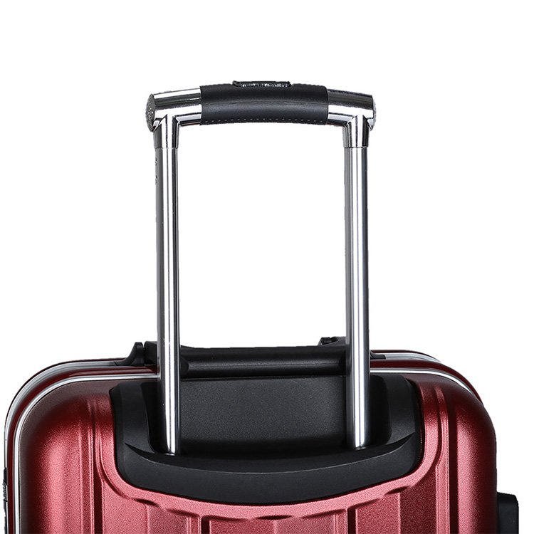 3travel ABS PC luggage with TSA clock