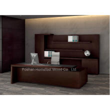 One-Step Office Furniture Solution Luxury Presidential Boss Executive Desk (HF-LTA138)