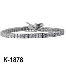 Nueva pulsera de plata de la joyería de la manera de los estilos 925 (K-1878. JPG)