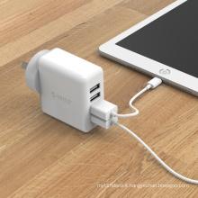 ORICO DCM-4U-AU 30W 4 ports USB wall charger 5V2.4A,mobile phone USB charger