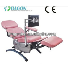 DW-BC006 blood collection chair medical adjustable blood chairs emergency electric blood donation chair