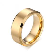 Wholesale mens vàng tungsten wedding ban nhạc
