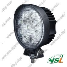 27 Вт, 4 дюйма, ЭМС, светодиодный рабочий светильник, 10-30 В, светодиодный прожектор рабочего света
