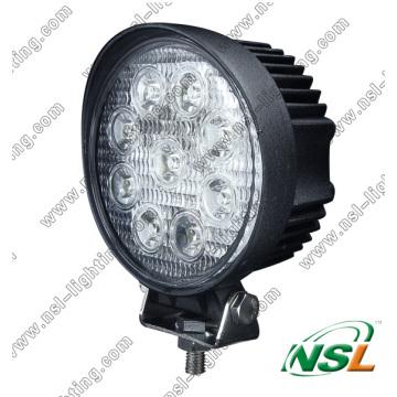 27W 4 Inch EMC LED Work Light 10-30V Flood & Spot LED Work Light