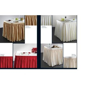 High Quality Table Skirting Polyester