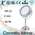 8′′ bateria espelho cosmético