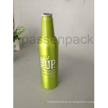 Botella de cerveza de aluminio de 500 ml con impresión de transferencia de calor de 4 colores (PPC-ABB-01)