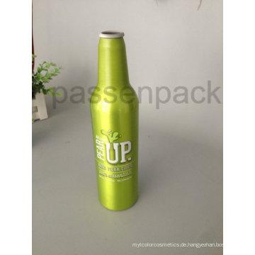 500ml Aluminium Bierflasche mit 4 Farben Wärmeübertragung (PPC-ABB-01)