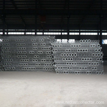 Trapezoid bag type dust collector frame