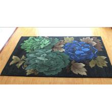 Luxury Hotel Decoration Flower Design Wool Carpet