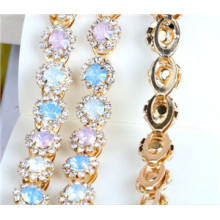 High Quality Luxury Rhinestone Trims by The Meter