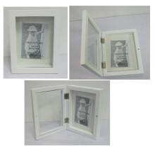 Caja de sombra de madera para la decoración del hogar con alfileres