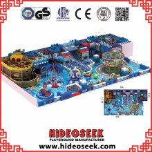 Piratenschiff Theme Kinder Indoor Spielplatz mit Kletterturm