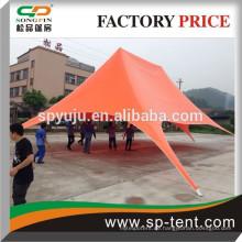 Großer Druck im Freien doppelte Oberseite SAR Schatten ändern Zelt 8x12m in orange