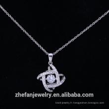 925 bijoux en argent sterling pendentif en laiton fait