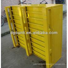 Plataforma de acero pesado estándar Euro tipo Color