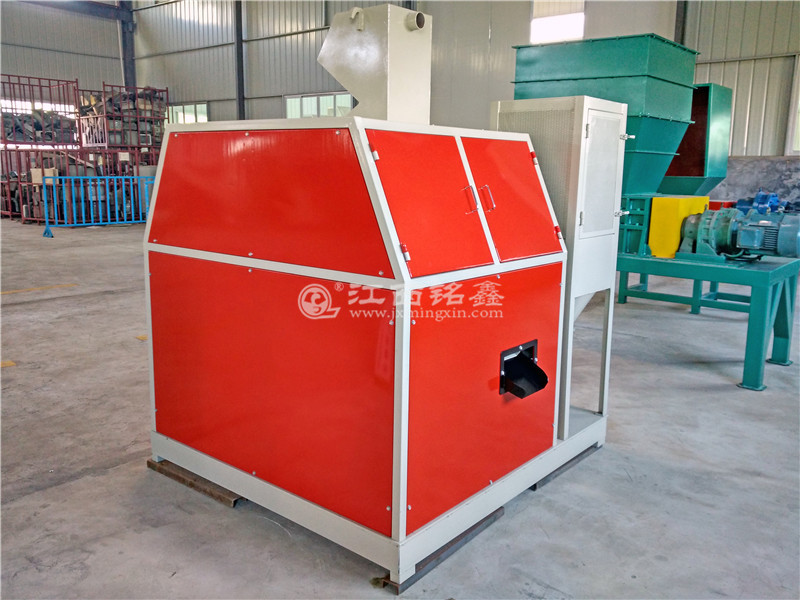 copper cable cutting and separating machine
