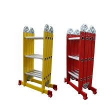 330 lb heavy capacity with EN-131 Folding Ladders aluminium