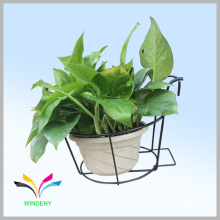 Facoty Supply New Design Metal wire hanging flower holder