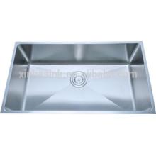 Cupc 304 Edelstahl handgemachte single bowl Spüle für Küche